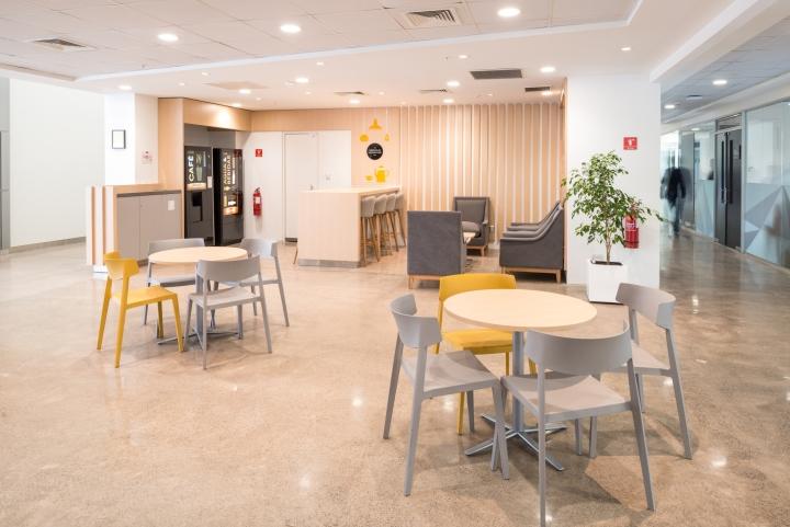 Дизайн инновационного центра: кафе