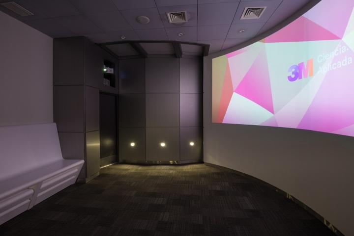 Дизайн инновационного центра: проходной зал