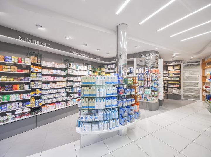 Дизайн интерьера аптеки: чёткая планировка