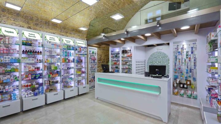 Дизайн интерьера аптеки: внутренний интерьер помещения