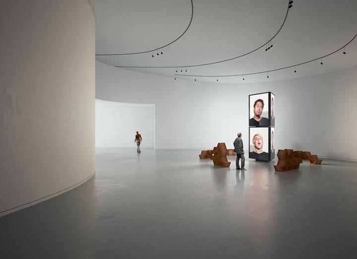 Дизайн интерьера музея: доминирование минимализма