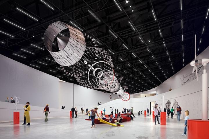 Дизайн интерьера музея: игровое пространство для детей