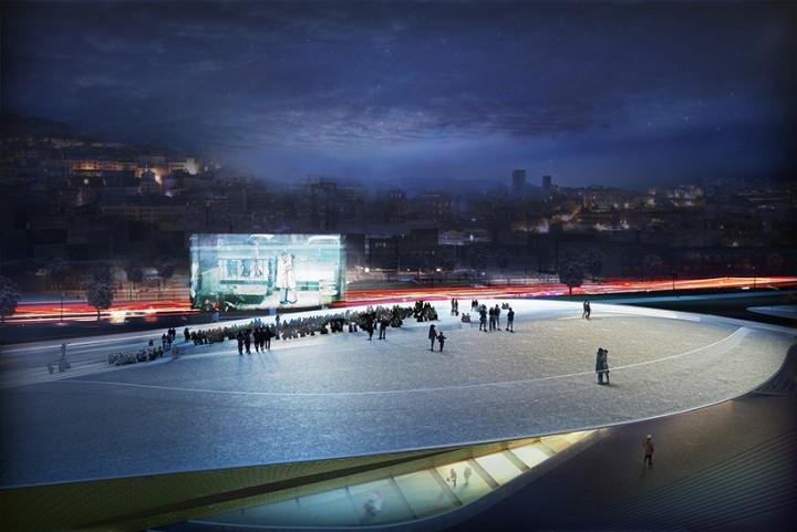 Дизайн интерьера музея: архитектурный триеннале в Лиссабоне