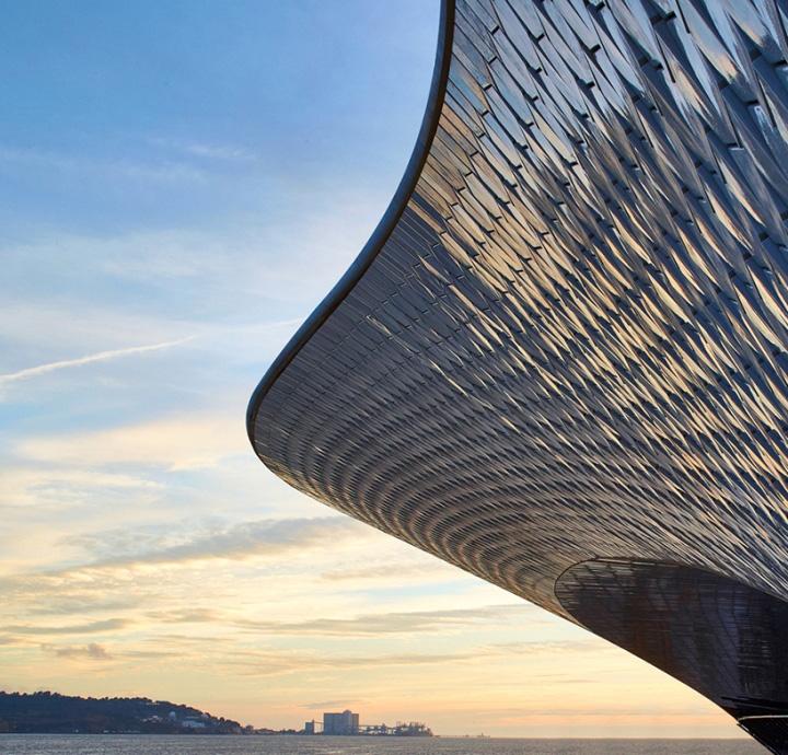 Дизайн интерьера музея: шикарный вид с крыши
