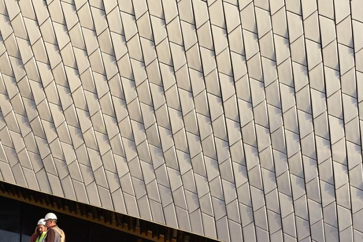 Дизайн интерьера музея: 3D-плитка