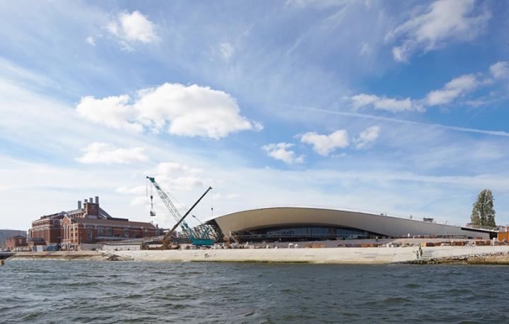 Дизайн интерьера музея: побережье реки Тежу