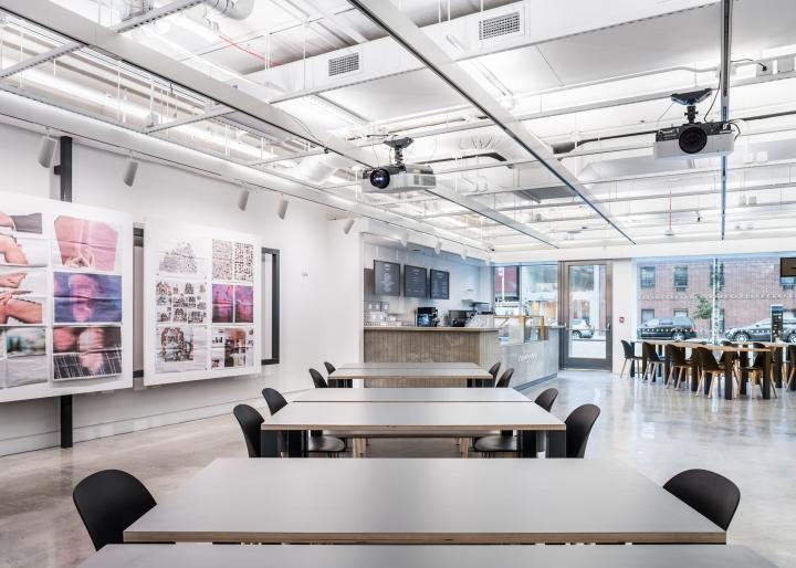 Дизайн интерьера музея: контраст в оформлении мебелью