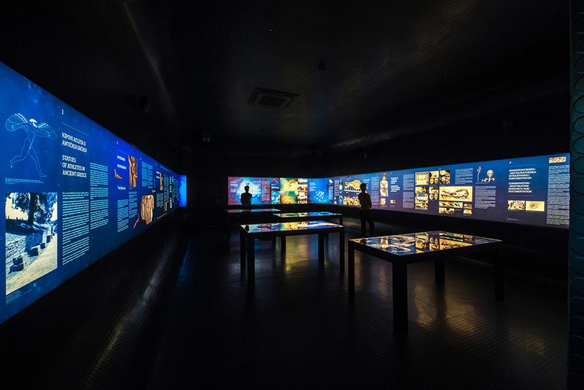 Дизайн интерьера музея: главный выставочный комплекс