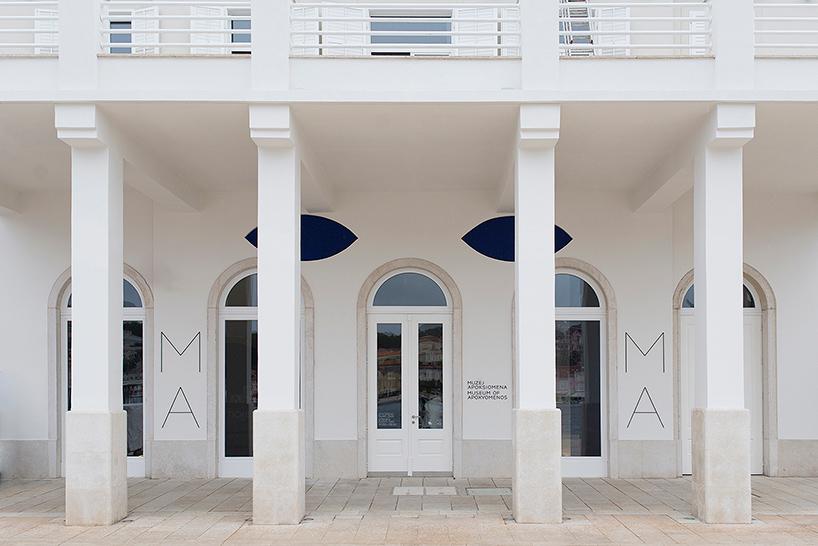 Дизайн интерьера музея: вход