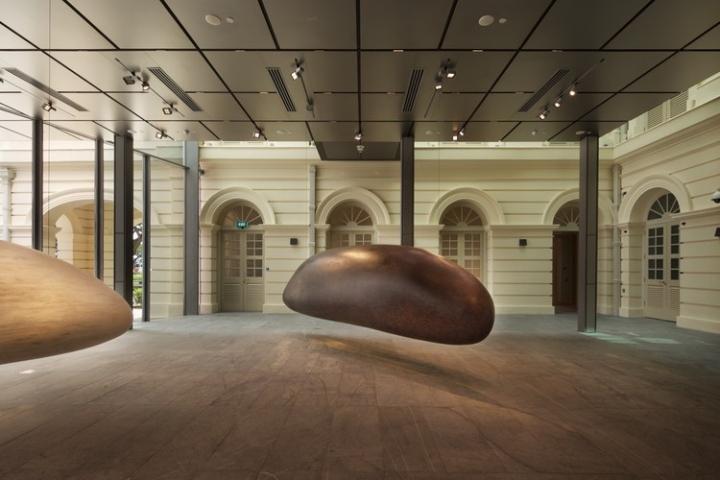 Дизайн интерьера музея в Сингапуре