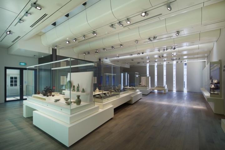 Современный дизайн интерьера музея