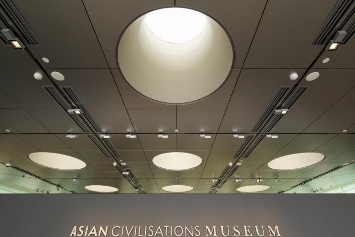 Дизайн интерьера музея: лёгкие стальные конструкции