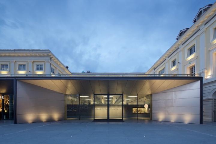 Дизайн интерьера музея: одна из пристроек