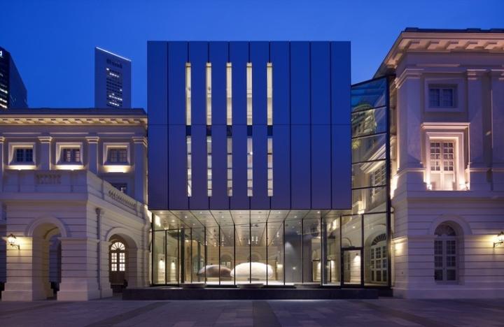 Дизайн интерьера музея: второй корпус