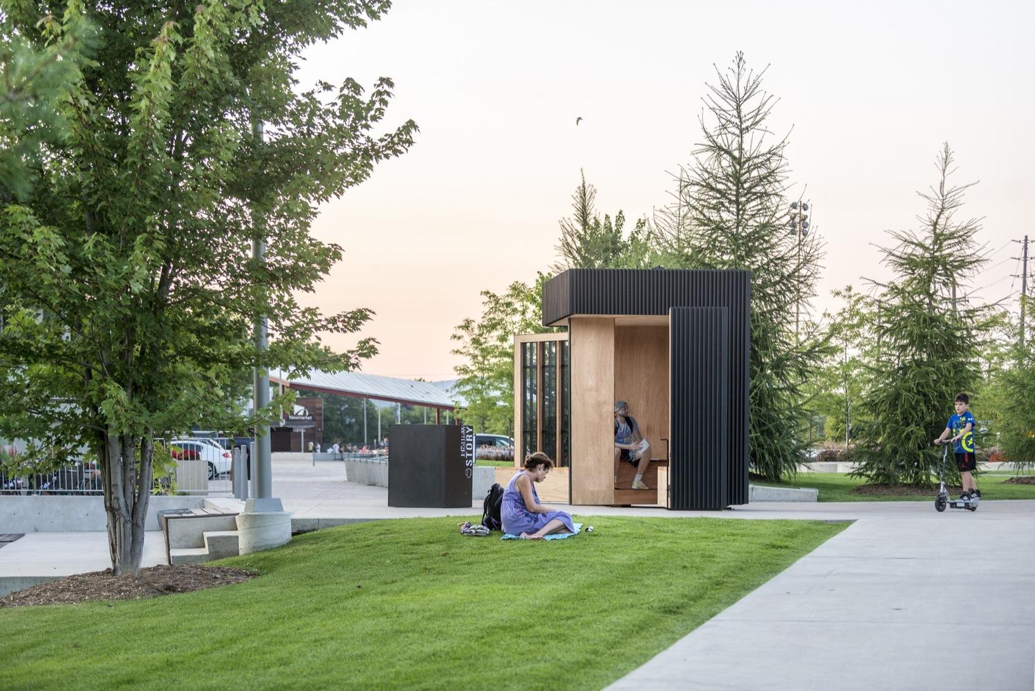 Дизайн интерьера общественных помещений: расположение учреждения