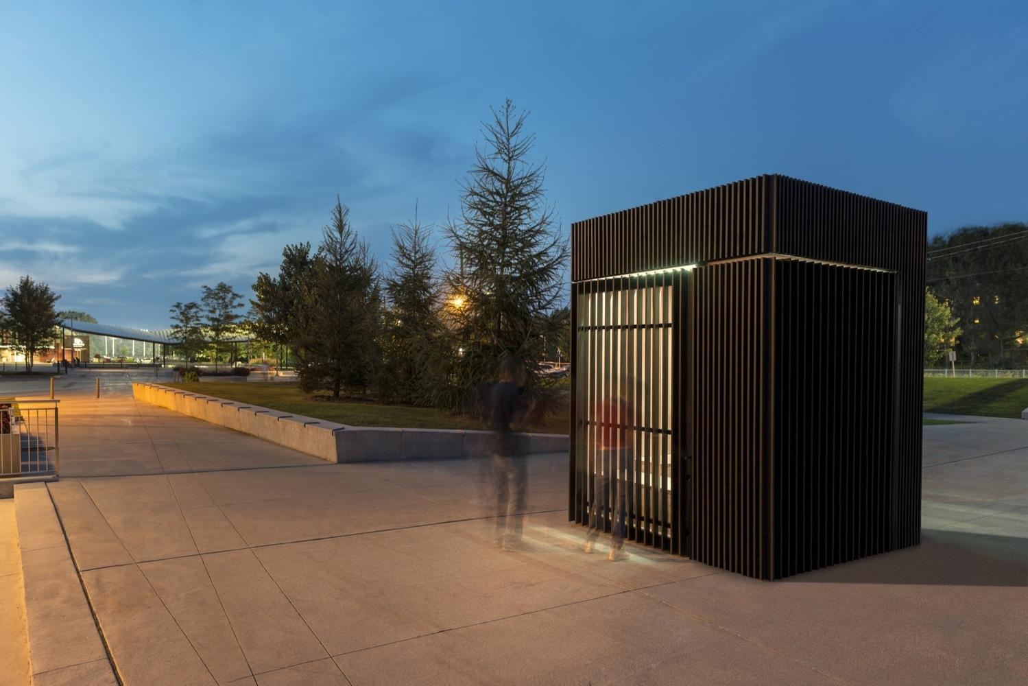 Дизайн интерьера общественных помещений: наружный фасад