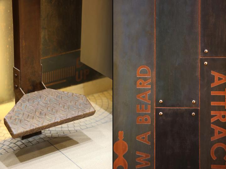 Дизайн интерьера парикмахерского салона Capital в Индии: элементы декора