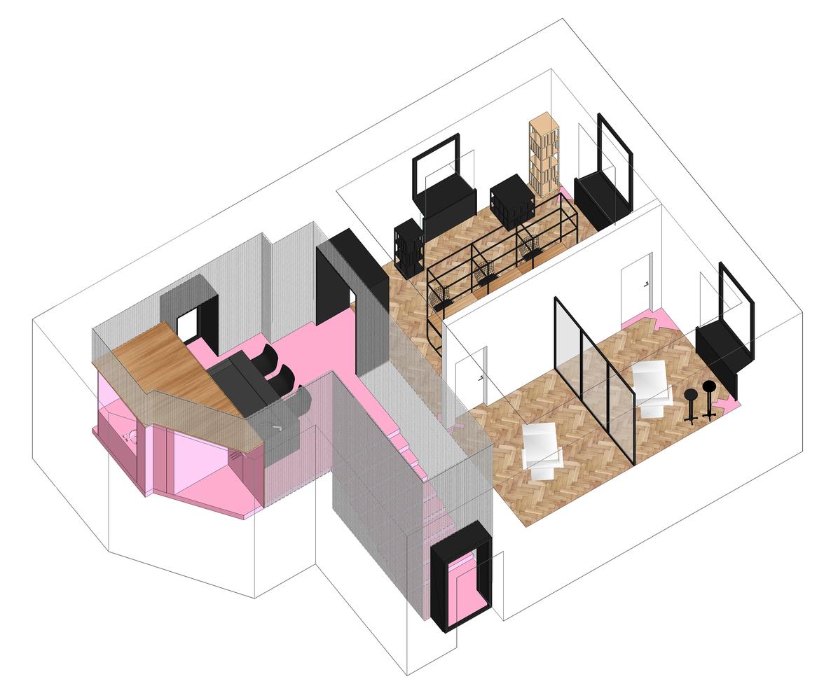 Интерьер маникюрного салона: планировка