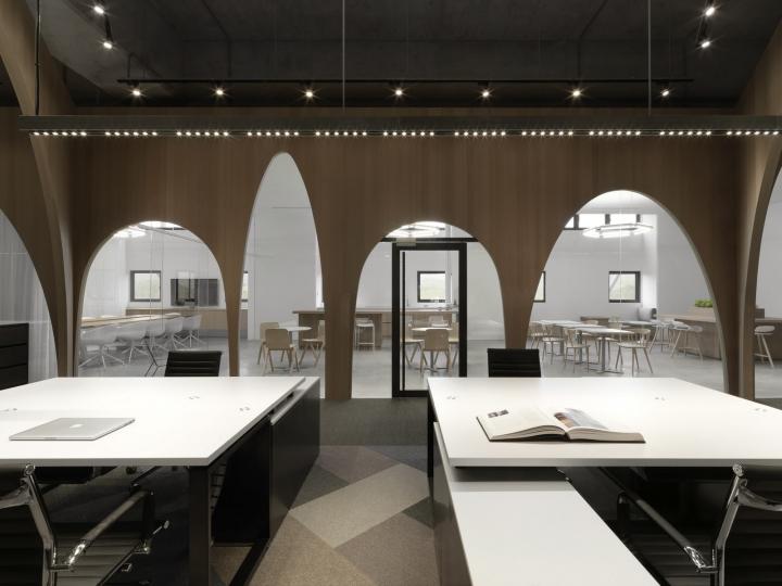 Дизайн интерьера современного офиса: рабочие места