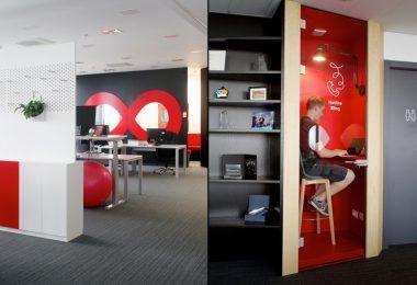 Дизайн интерьера современного офиса в Хорватии