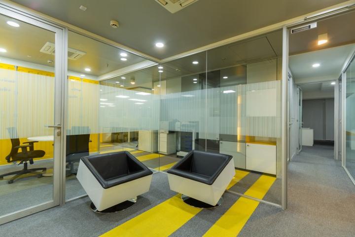 Дизайн интерьера современного офиса - просторное помещение