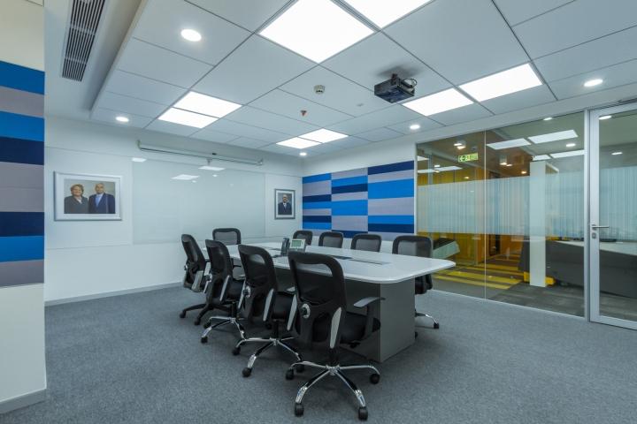 Дизайн интерьера современного офиса: конференц-зал
