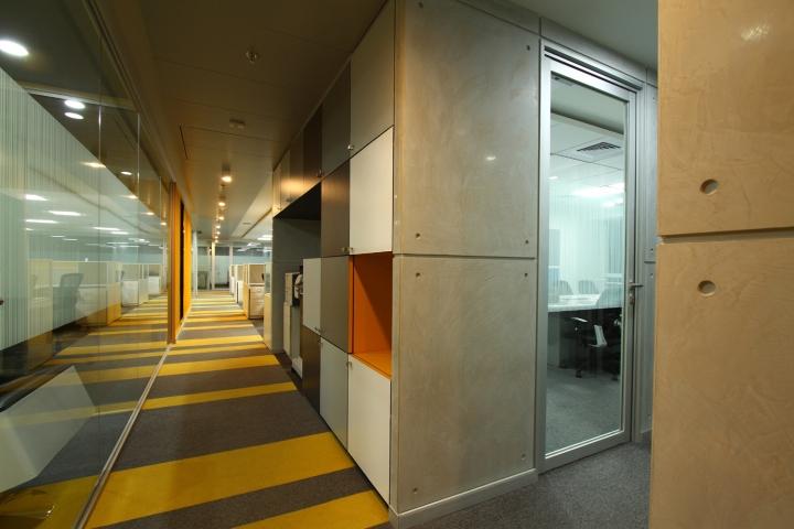 Дизайн интерьера современного офиса компании Liebherr - фото 1