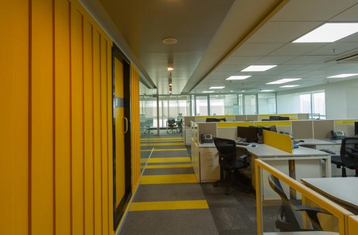 Дизайн интерьера современного офиса компании Liebherr - фото 2