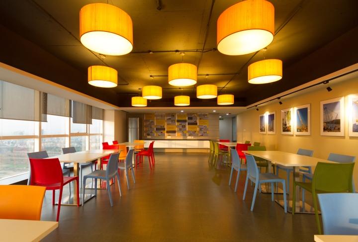 Дизайн интерьера современного офиса компании Liebherr - фото 6