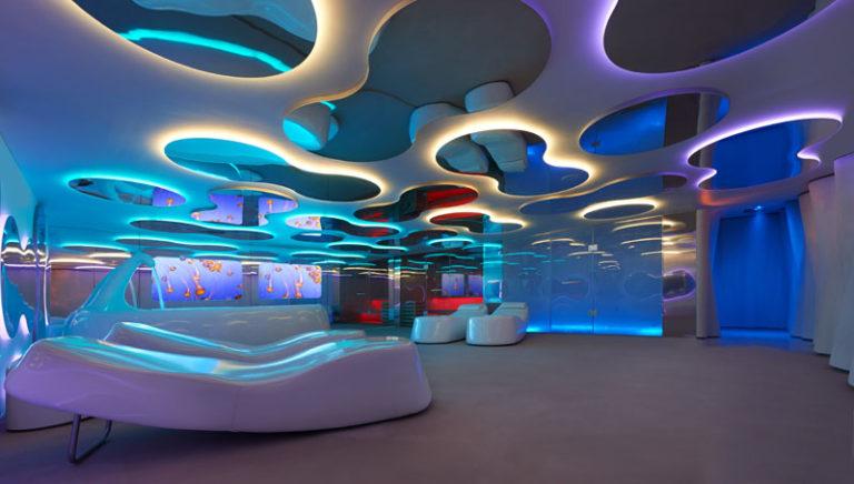 Дизайн интерьера спа салона