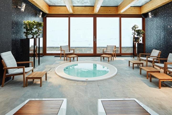 Дизайн интерьера спа-салона: зона бассейна