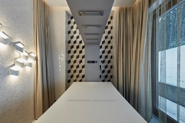 Дизайн интерьера спа-салона: стильная процедурная комната