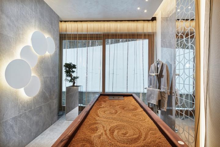Дизайн интерьера спа-салона: дорогие материалы отделки