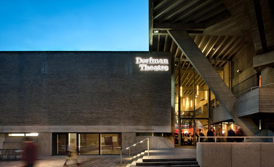Дизайн интерьера театра: темнота во внешнем пространстве