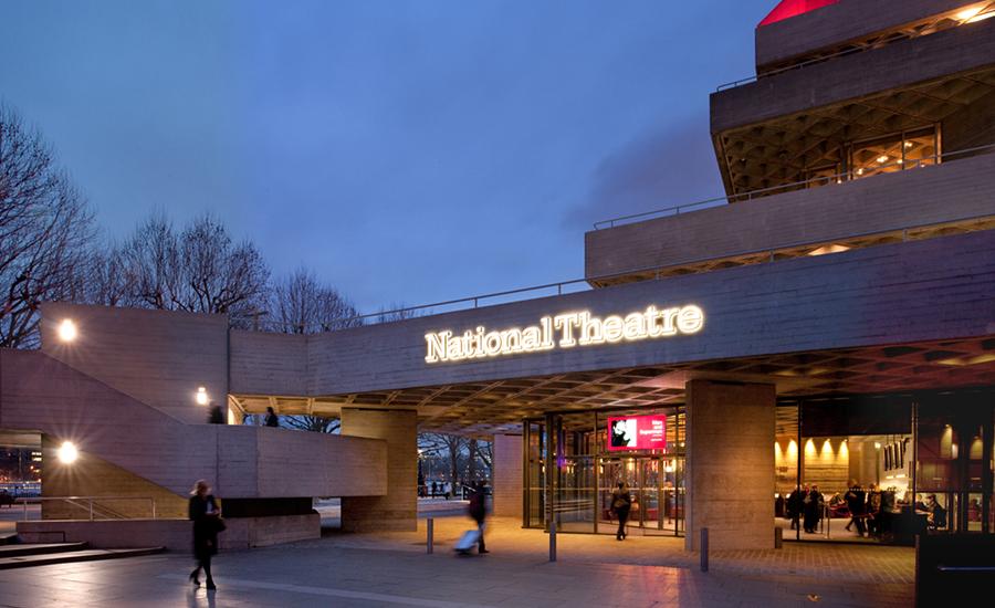 Дизайн интерьера театра: вход в здание