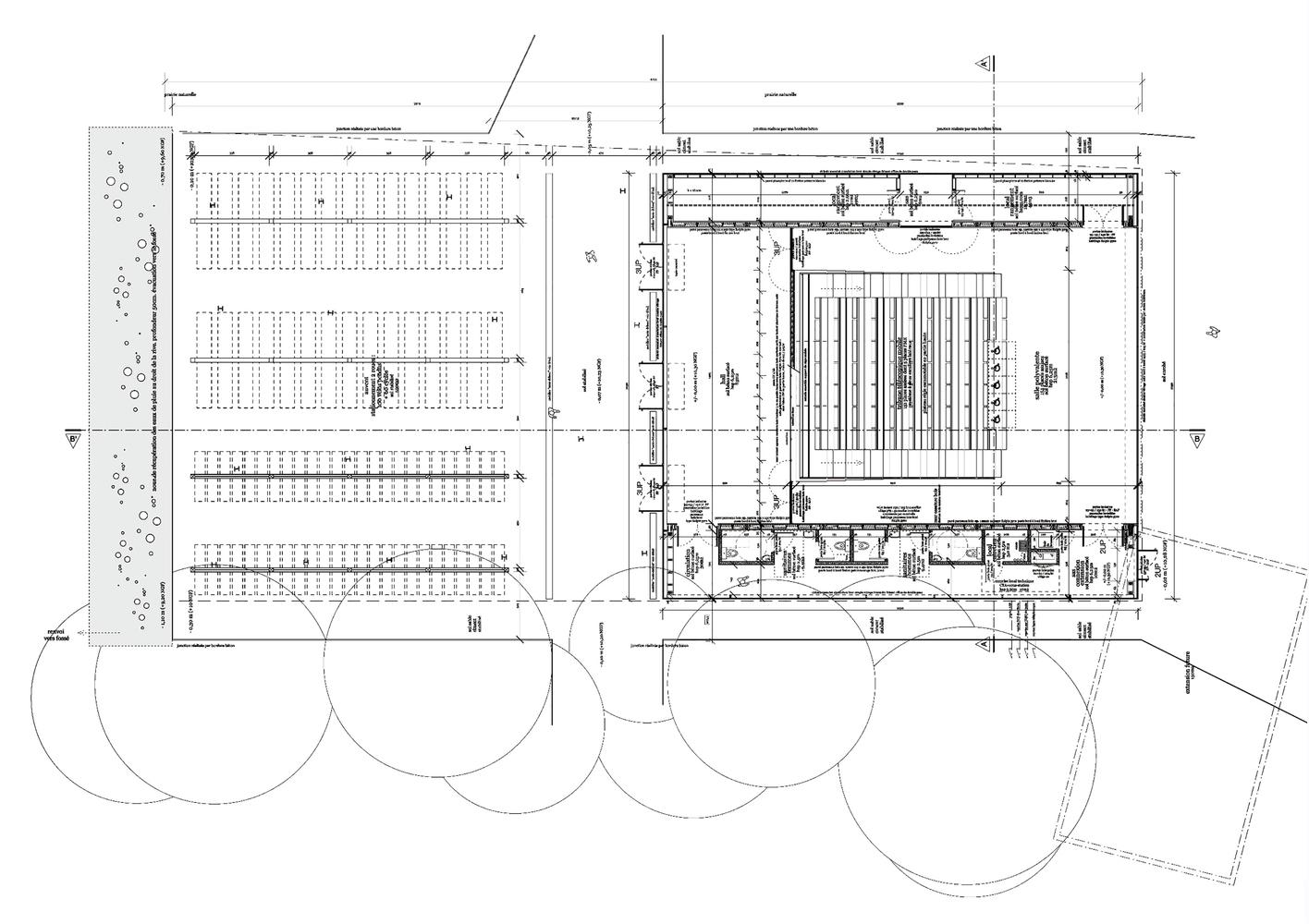 План этажа театра