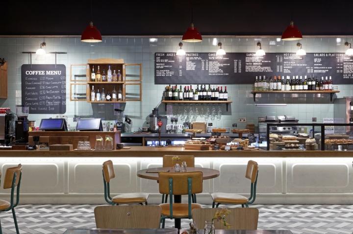 Дизайн интерьера в ретро-стиле в Англии - дизайн кухни