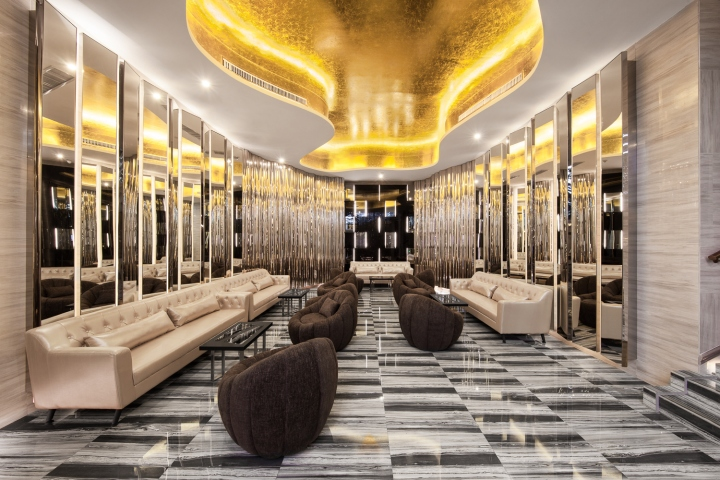 Дизайн интерьеров кинотеатра городе Хефей, Китай