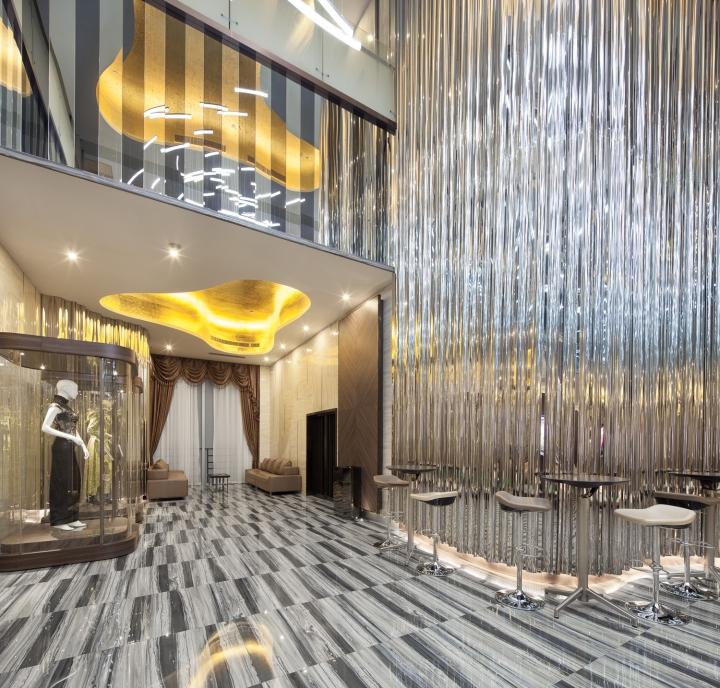 Дизайн интерьеров кинотеатра городе Хефей, Китай: природная гармония