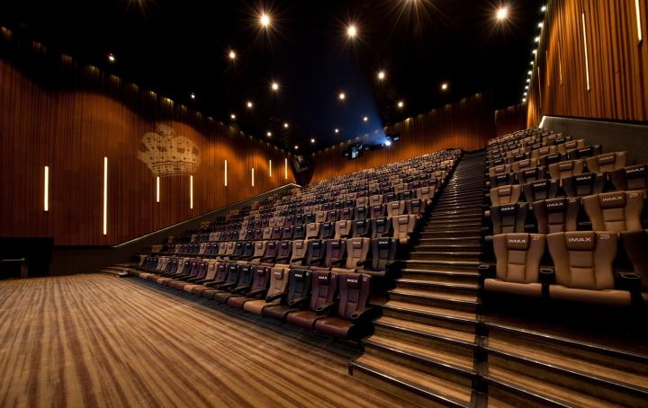 Дизайн интерьеров кинотеатра городе Хефей, Китай: удобство прежде всего