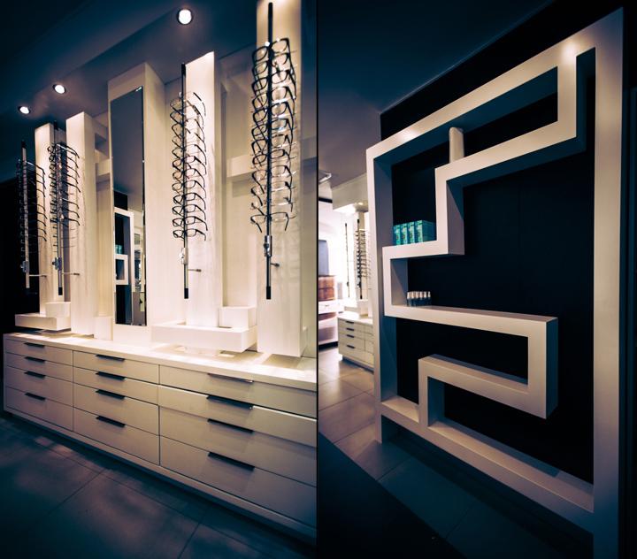 Две разделённые зоны в дизайне магазина