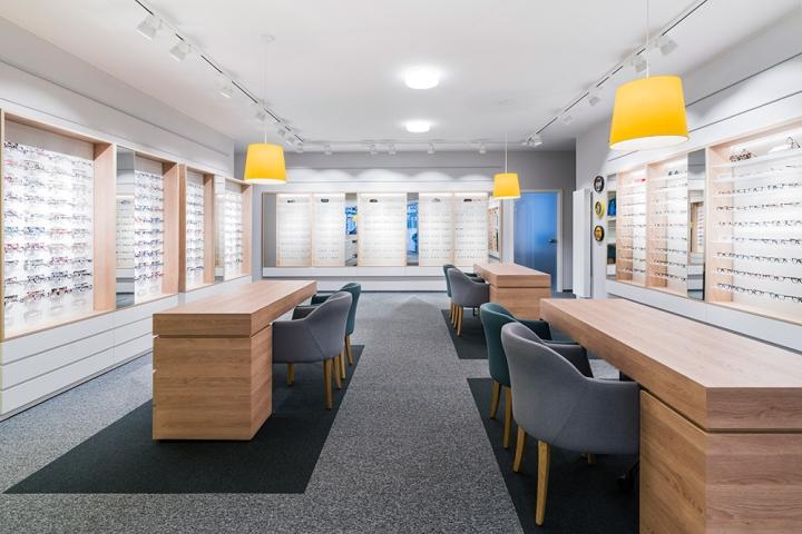 Дизайн магазина очков Binder Optik