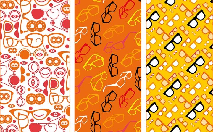 Ярко-оранжевые акценты в дизайне магазина оптики - Фото 6