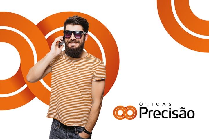 Ярко-оранжевые акценты в дизайне магазина оптики - Фото 7