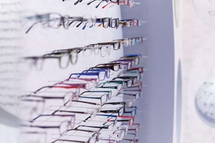 Дизайн магазина оптики: ассортимент