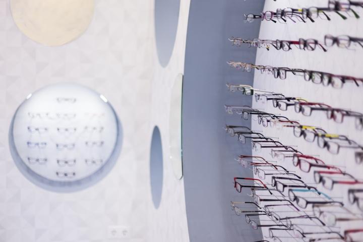 Дизайн магазина оптики: ассортимент очков