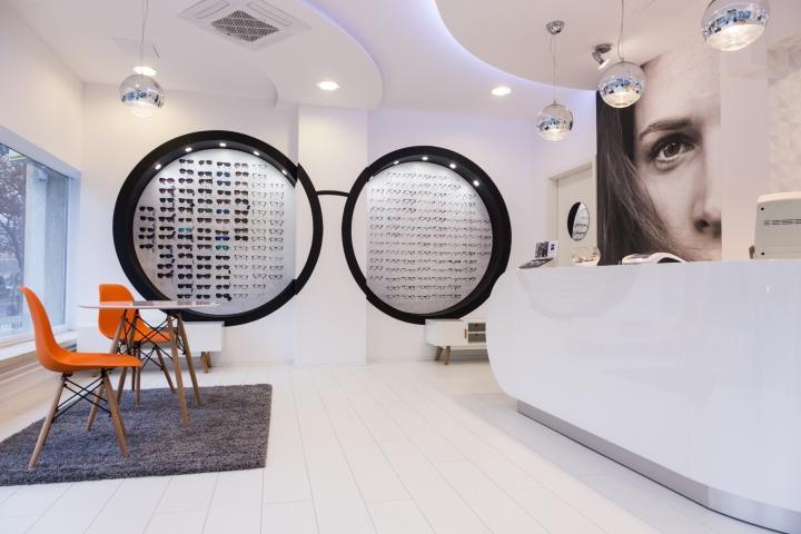 Дизайн магазина оптики Sole