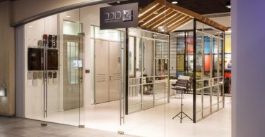 Дизайн маленького офиса Kochav Aluminium Design Center