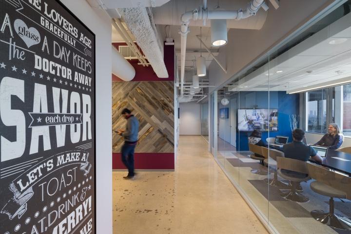 Дизайн маленького офиса от Kamus + Keller Interiors | Architecture в Калифорнии