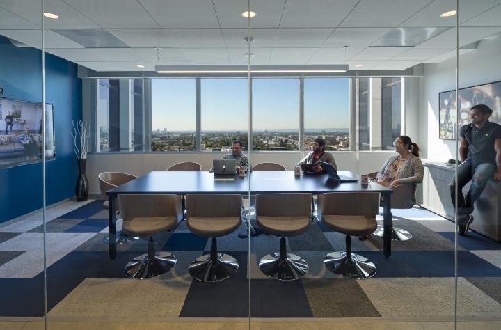 Дизайн маленького офиса от Kamus + Keller Interiors | Architecture в Калифорнии: конференц-зал